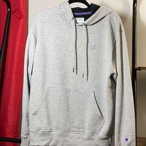Grey champion sweatshirt